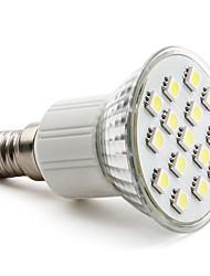 cheap -2W E14 GU10 E26/E27 LED Spotlight MR16 15 SMD 5050 90-120lm Warm White Natural White 6000K AC 220-240V