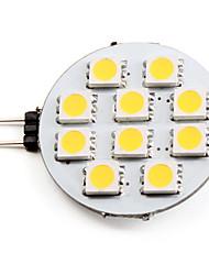 1.5W G4 LED-spotlys 10 SMD 5050 90 lm Varm hvid Jævnstrøm 12 V