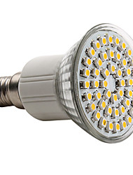 e14 led spot mr16 48 smd 3528 150lm bianco caldo 2800k ac 220-240v