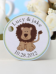 cheap -Personalized Favor Tag - Lion (Set of 36) Wedding Favors Beautiful