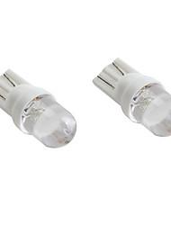 Lorcoo 2pcs t10 ampoule LED à lumière blanche pour tableau de bord de voiture