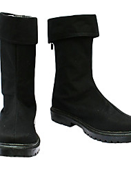 abordables -Botas Cosplay One Piece Roronoa Zoro Animé Zapatos de cosplay Hombre