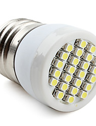 E26/E27 LED Spotlight 24 SMD 3528 80lm Natural White 6000K