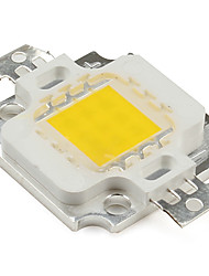 economico -zdm ™ fai da te 9-12 v 900ma 10w 800lm caldo bianco led emettitore di alta qualità