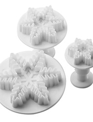 cheap -Mold For Cupcake For Cookie For Cake Plastic DIY Christmas High Quality
