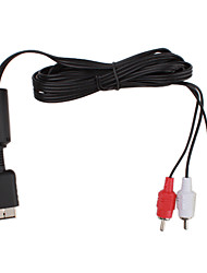 abordables -Audio y Video Adaptador y Cable para Sony PS2 Con cable