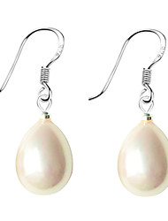 Women's Drop Earrings Pearl Sterling Silver Imitation Pearl Shell Pink Pearl Black Pearl Drop Jewelry For Daily