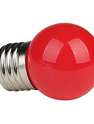 1W E26/E27 LED Globe Bulbs G45 1 High Power LED 80-100 lm Red K AC 220-240 V