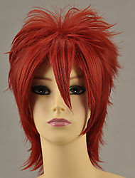 Parrucche Cosplay Cosplay Ushiromiya Maria Rosso Corto Anime/Videogiochi Parrucche Cosplay 32 CM Tessuno resistente a calore Donna