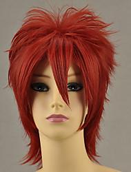 Cosplay Wigs Cosplay Ushiromiya Maria Red Short Anime/ Video Games Cosplay Wigs 32 CM Heat Resistant Fiber Female