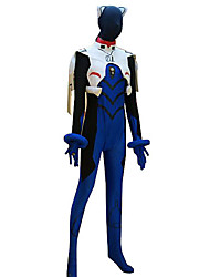 abordables -cosplay traje inspirado en neon genesis evangelion ikari shinji leotardo