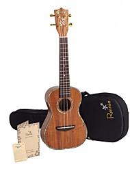 Недорогие -Rainie - (C50) профессионального уровня твердых акации коа концерт укулеле с концерта мешок / тюнер (жемчужные связывания)