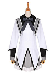 cheap -Inspired by Puella Magi Madoka Magica Homura Akemi Anime Cosplay Costumes Cosplay Suits School Uniforms Patchwork Long Sleeves Cravat