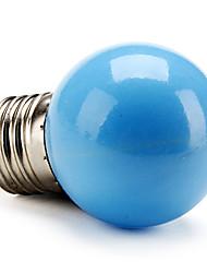 billige -LED-globepærer 50 lm E26 / E27 G45 LED perler Høyeffekts-LED Blå