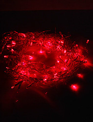 cheap -Festival Decoration 120-LED 8-Mode Red Light Icicle Lamps for Party (220V)