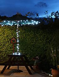 Solar 60 LED brancos Luz de Luzes de Natal ao ar livre Decoração Lâmpadas