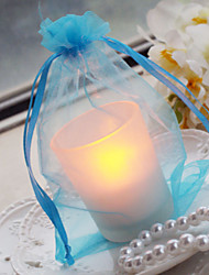 Glass LED with Organza Bag (More Colors) Wedding Gifts Beautiful