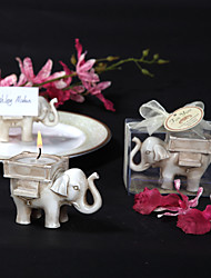 cheap -Asian Theme Holiday Classic Theme Fairytale Theme Baby Shower Candle Favors Candle Favors Candle Holders Others PVC Box Spring Summer