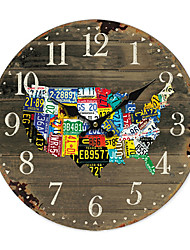 baratos -Relógio de parede americano País