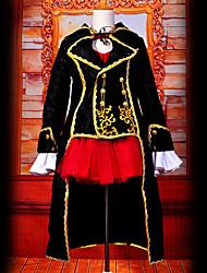 Недорогие -Вдохновлен Вокалоид Meiko видео Игра Косплэй костюмы Косплей Костюмы Пэчворк Кофты костюмы