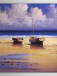 cheap -Hand-painted Landscape Oil Painting with Stretched Frame
