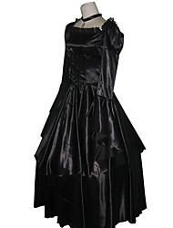 Недорогие -Вдохновлен Код Gease C.C. Аниме Косплэй костюмы Японский Косплей Костюмы / Платья Длинный рукав Платье / Ожерелья Назначение Жен.
