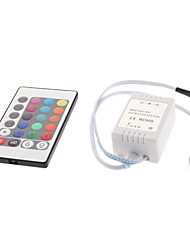 cheap -24-Button Remote Controller for RGB LED Strip Lights (12V) High Quality