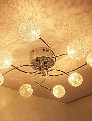 levne -Vestavná montáž ,  moderní - současný design Galvanicky potažený vlastnost for Křišťál Kov Obývací pokoj