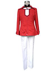 Ispirato da Yu-Gi-Oh Judai Yuki Anime Costumi Cosplay Abiti Cosplay Tinta unita Manica lunga Cappotto Pantaloni T-shirt Per Uomo