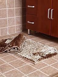 elaine Faser wasserabsorbierenden rutschfeste Teppich (Satz 2) (50 * 80cm, khaki)