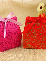 cheap -Creative Favor Holder With Ribbons Favor Boxes-12 Wedding Favors