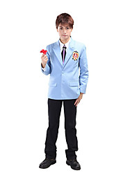 Inspired by Ouran High School Host Club Haruhi Fujioka Anime Cosplay Costumes Cosplay Suits School Uniforms Patchwork Long Sleeves Coat