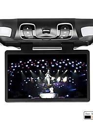 abordables -Lecteur DVD de Voiture 15.6 Pouces à Fixation sur le Toit, Compatible Jeux et Carte SD