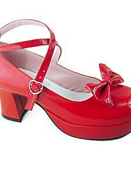 Schuhe Niedlich Handgemacht Stöckelschuh Schuhe einfarbig 8 CM Für PU - Leder/Polyurethan Leder Polyurethan Leder