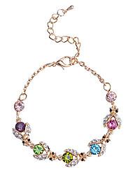 cheap -European Style  Fashion Multicolour  Little Beetle Gold Plating Bracelet Set