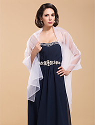 Wedding  Wraps / Shawls Shawls Sleeveless Tulle As Picture Shown Wedding / Party/Evening