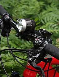 Headlamps / Bike Lights / Front Bike Light LED Cree Q5 Cycling Waterproof / Rechargeable 18650 1200 Lumens BatteryCamping/Hiking/Caving /