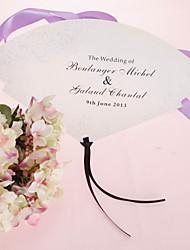 personalizirane biser papir rukom fan - cvjetni dizajn (set od 12)