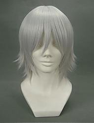 preiswerte -Cosplay Perücken D.Gray-man Allen Walker Anime Cosplay Perücken 32 CM Hitzebeständige Faser Herrn