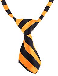 preiswerte -Katze Hund Krawatte/Fliege Hundekleidung Weiß Orange Nylon Kostüm Für Haustiere Hochzeit