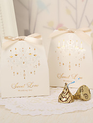 cheap -Vintage Favor Boxes With Ribbon Bow (Set of 12)