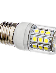 E26/E27 30 SMD 5050 3.5W 360 LM Natural White LED Corn Lights AC 110-130 / AC 220-240 V