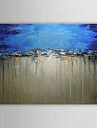 Недорогие -Ручная роспись Абстрактная живопись маслом 1305-AB0585