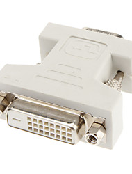 cheap -DVI 24+1 to VGA F/M Adapter