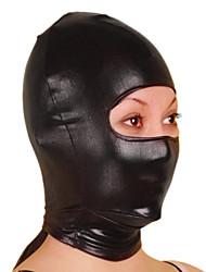 economico -Maschera Ninja Costumi Zentai Costumi Cosplay Tinta unita Maschera Metallizzato Unisex Halloween