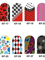12 Unha Arte Decoração strass pérolas maquiagem Cosméticos Designs para Manicure