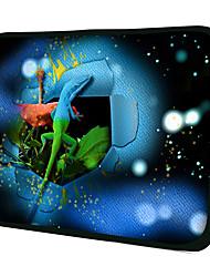 """2 Colori Gecko"" Pattern Materiale Nylon Custodia impermeabile Custodia per 11 ""/ 13"" / 15 ""Laptop e Tablet"