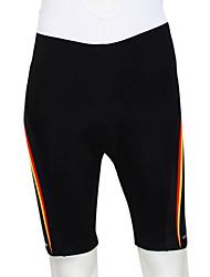 Kooplus Cuissard Rembourré de Cyclisme Homme Vélo Cuissard  / Short Bas Vestimentaire Respirable Bandes Réfléchissantes La peau 4 densités