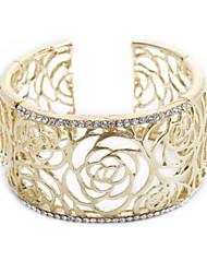 Belle alliage avec bracelet en cristal Plus de couleurs