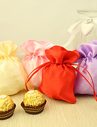 Creative Satin Favor Holder With Favor Bags-24 Wedding Favors